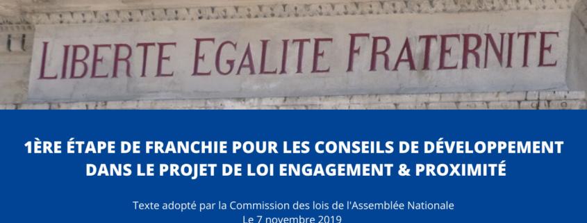 projet de loi engagement proximité