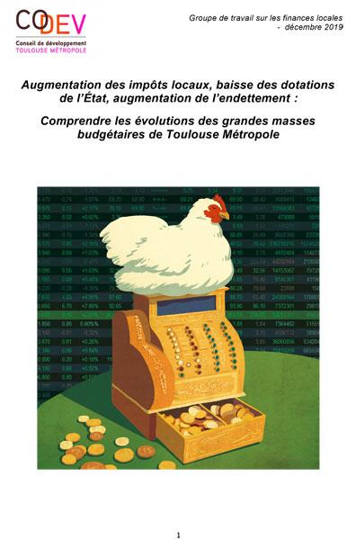 Evolutions grandes masses budgétaires Toulouse Métropole
