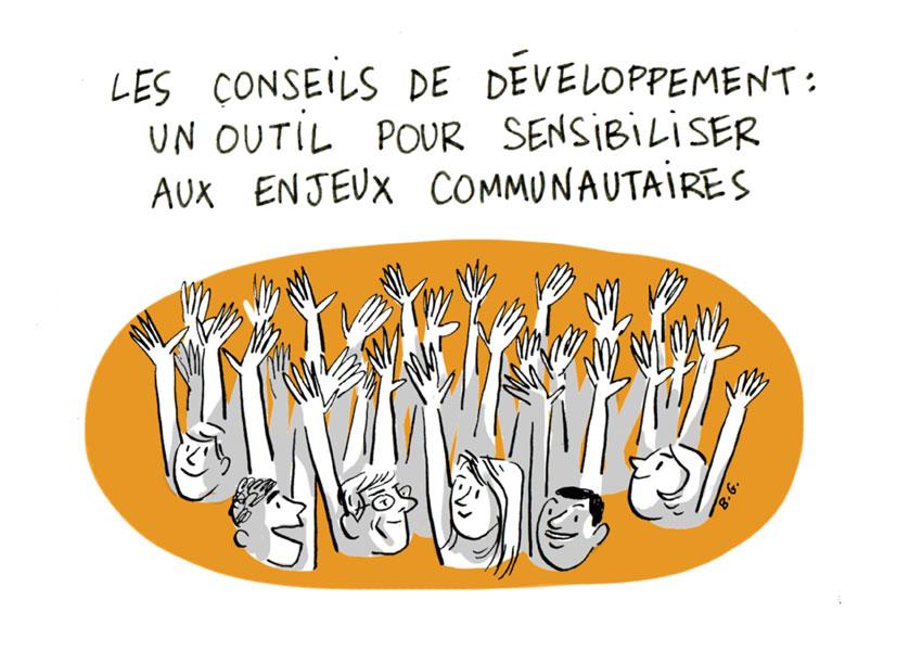 conseils de développement enjeux communautaires