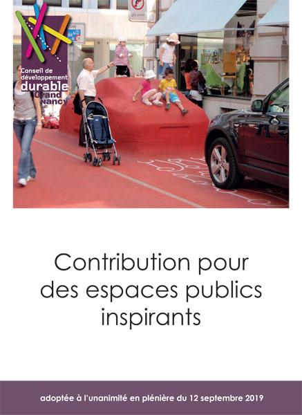 Espaces publics plus inspirants Nancy