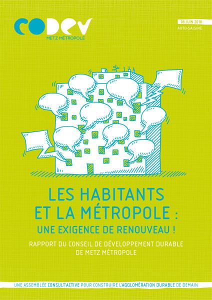 Les habitants et la métropole Metz