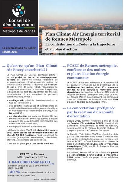 Plan Climat Rennes