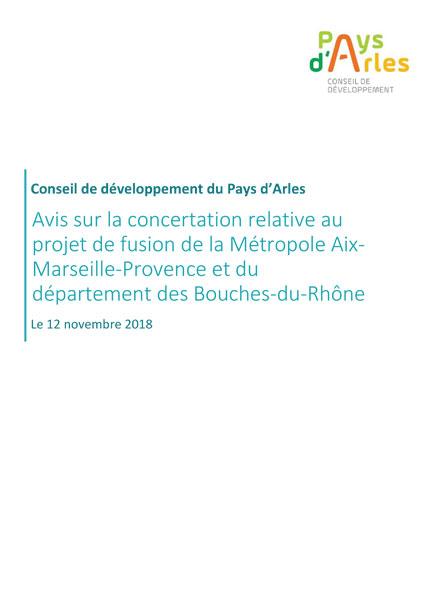Projet Fusion Aix Marseille Provence Arles