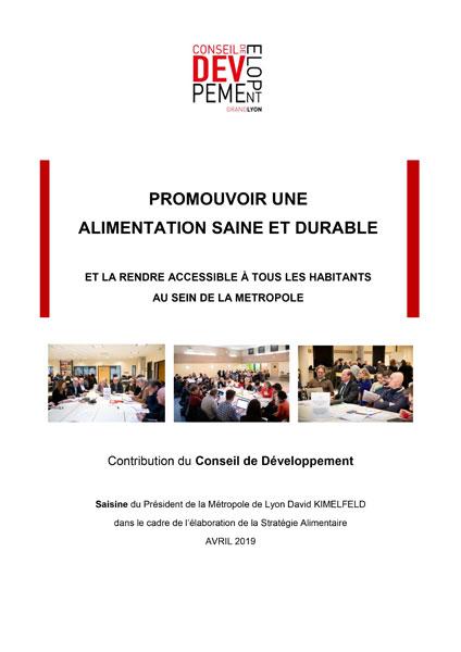 Promouvoir Alimentation saine et durable Lyon