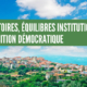 territoires équilibres institutionnels-transition démocratique