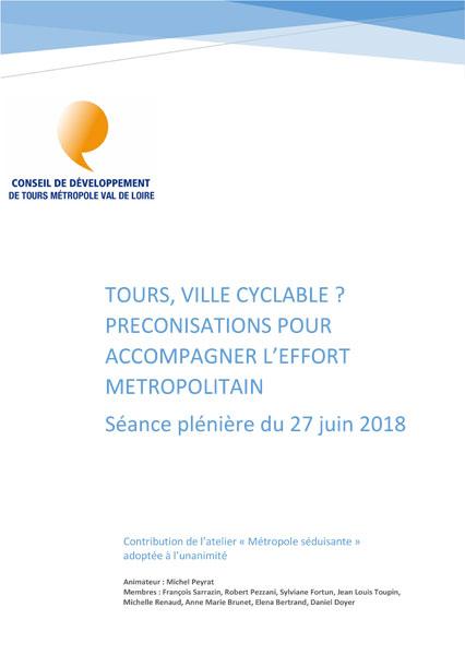 Tours ville cyclable Tours